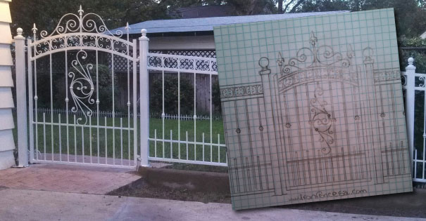 Designing Wrought Iron Fencing